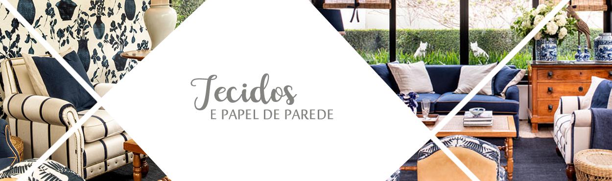 Tecidos e papel de parede